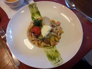Chorzów: restauracja La Pasion. Tagiatelle z kurczakiem
