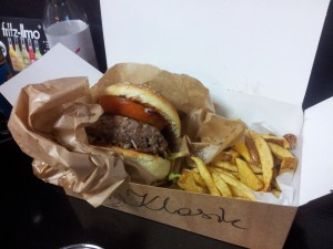 Gliwice: Korova Burger Bar. Classicburger