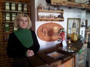 Mysłowice: Kawiarnia i sklep z antykami Stacyja Myslowitz. Iwona Borcz