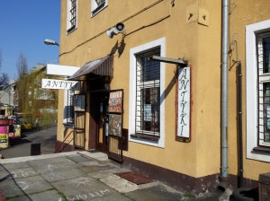 Mysłowice: Kawiarnia i sklep z antykami Stacyja Myslowitz