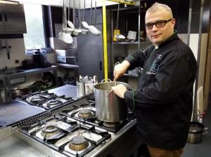 Bielsko-Biała: Restauracja Galeria Blu. Szef kuchni Mateusz Czekierda