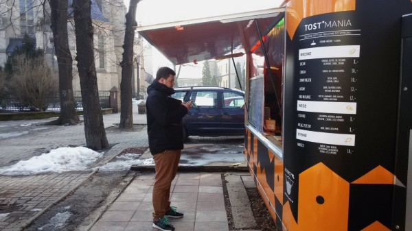 Katowice: Foodtruck Tostmania