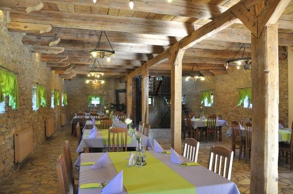 Miasteczko Śląskie: Restauracja Spichlerz Dworski