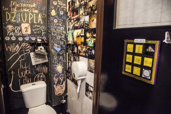 Katowice: KATO Burger. Toaleta