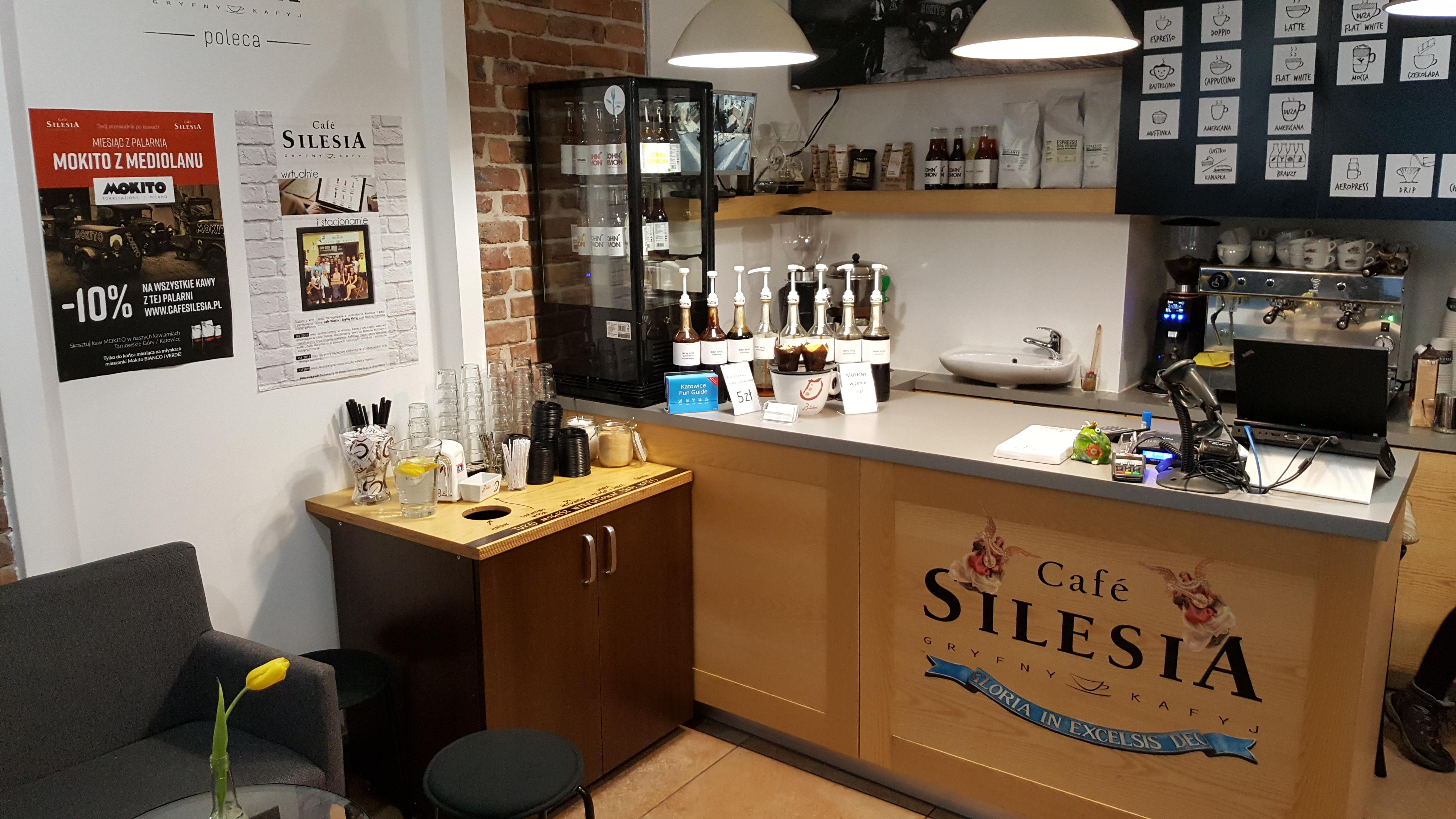 Silesia Smakuje Katowice Cafe Silesia Gryfny Kafyj Przy