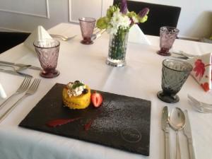 Pyskowice: Restauracja Umami. Torcik z mango